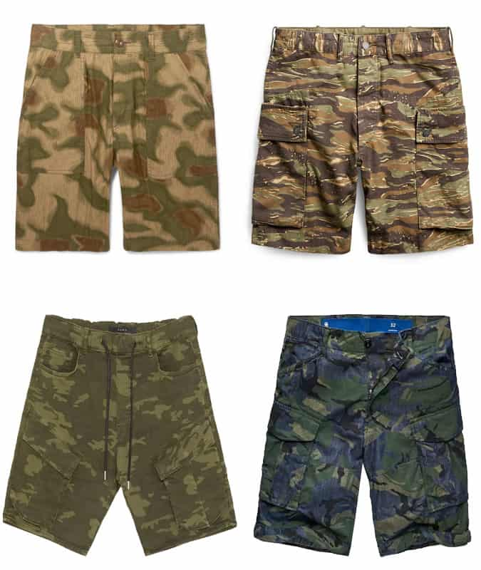 The Best Camo Shorts For Men