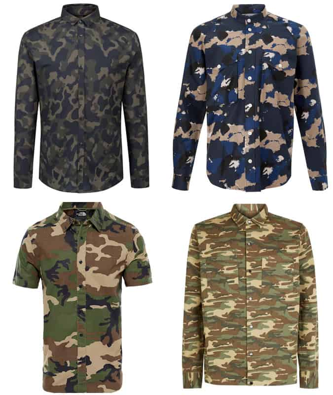 The Best Camouflage Shirts For Men
