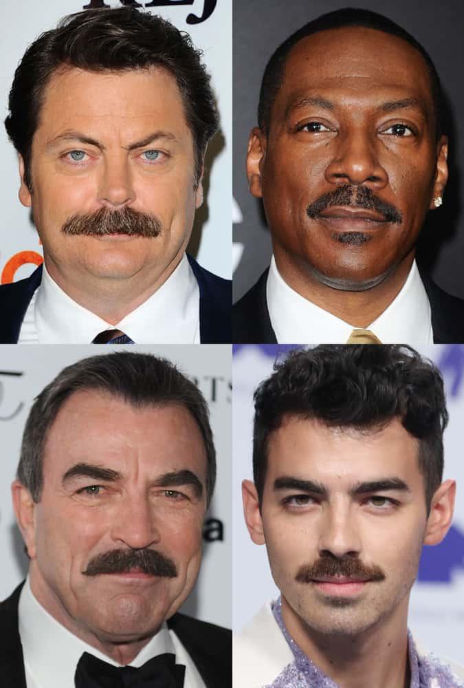 The Chevron Moustache Style