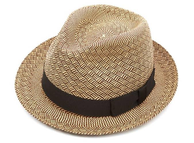 Chapeau Panama Christys Carnaby Trilby