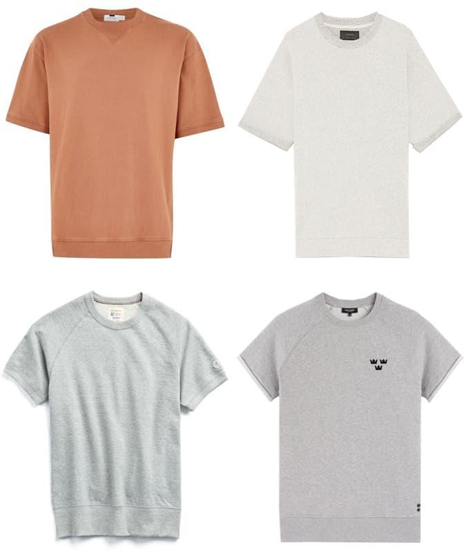 Les meilleurs sweat-shirts à manches courtes pour hommes
