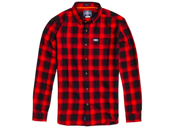 Superdry Workwear Straight Checked Shirt