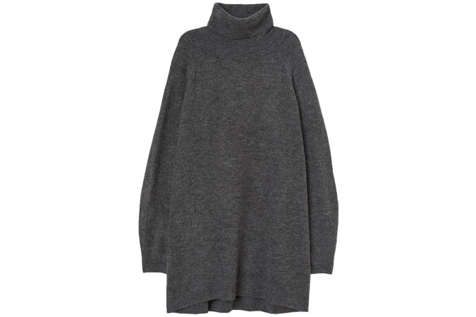 H&M Long polo-neck jumper