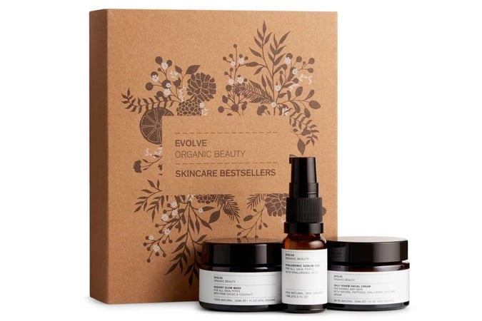 Evolve Organic Beauty Skincare Bestsellers Gift Set