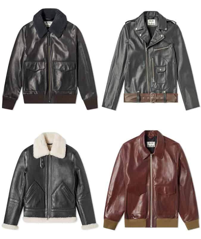 The Best Acne Leather Jackets