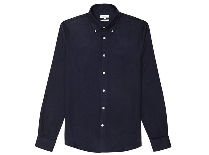 Chemise boutonnée coupe étroite Reiss