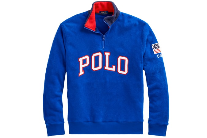 POLO RALPH LAUREN Polo Half-Zip Sweatshirt