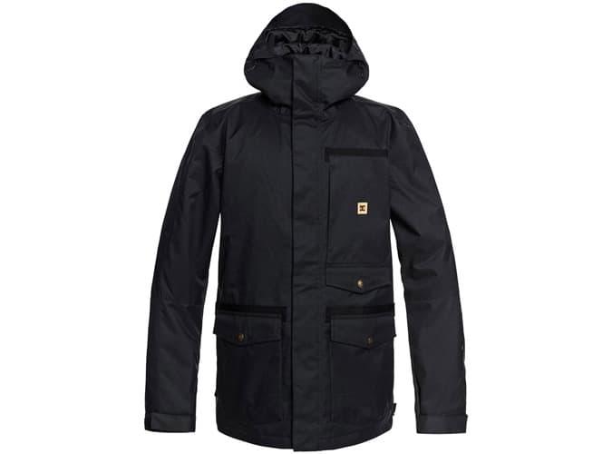 Meilleures vestes de snowboard pour homme - DC Servo Snowboard Jacket