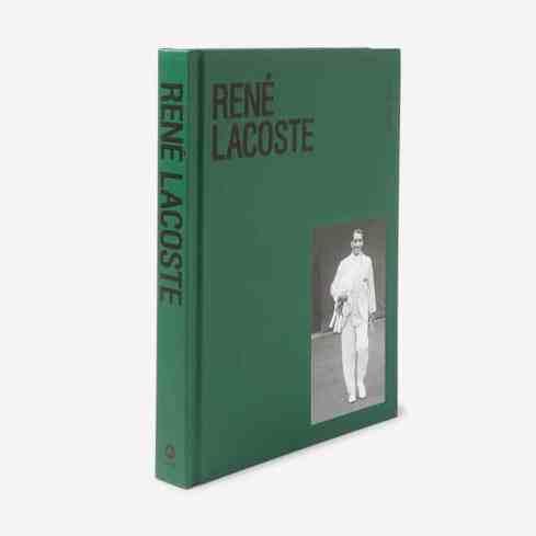 Livre relié ABRAMS René Lacoste