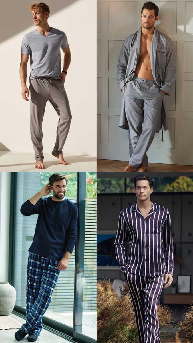 Pyjamas élégants pour hommes