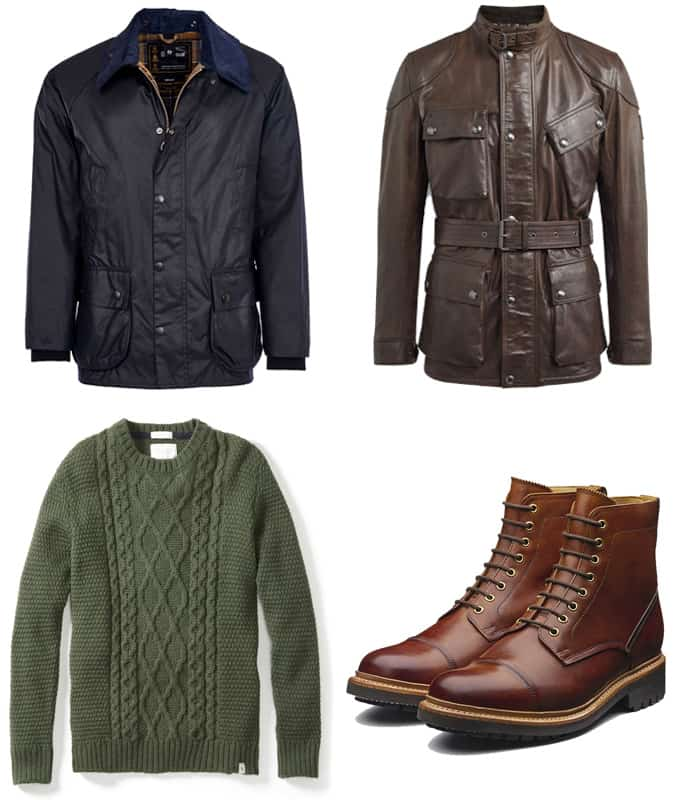 Mode masculine britannique
