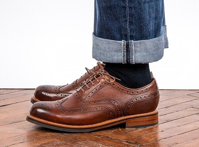 Chaussures brogues Grenson