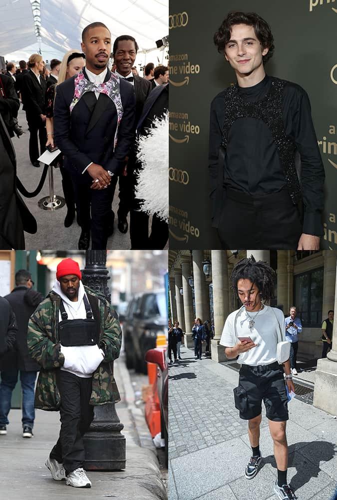 Célébrités portant des étuis et des sacs à bandoulière