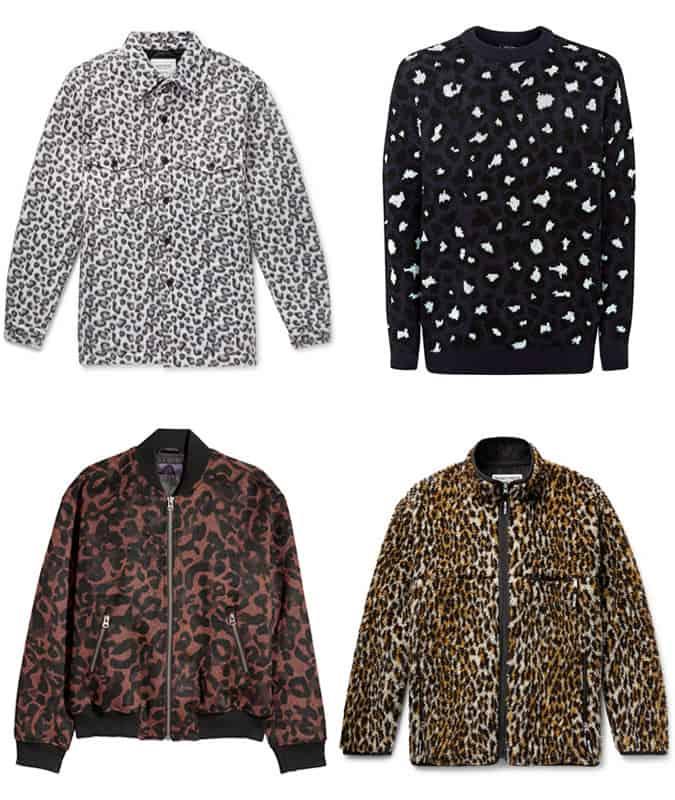 Les meilleurs vêtements à imprimé léopard pour hommes