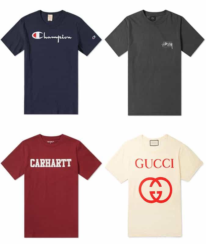 Les meilleurs t-shirts avec logo pour homme
