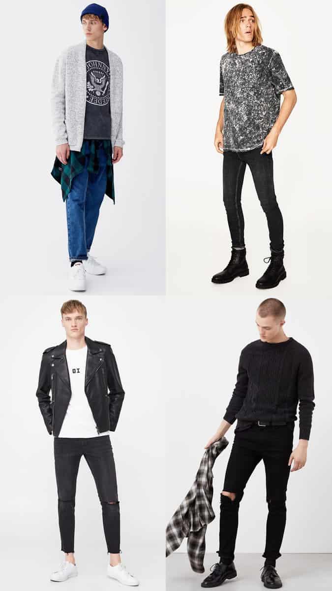 Les meilleurs vêtements grunge pour hommes