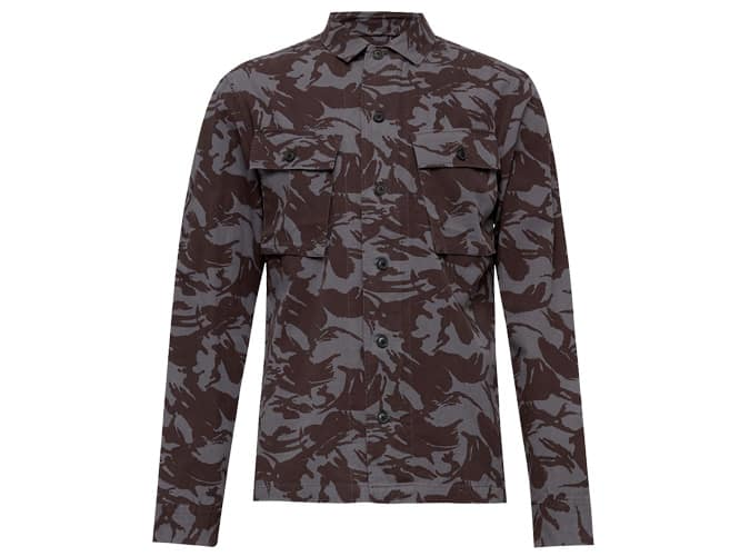 Chemise camouflage à manches longues Allsaints Ordnance