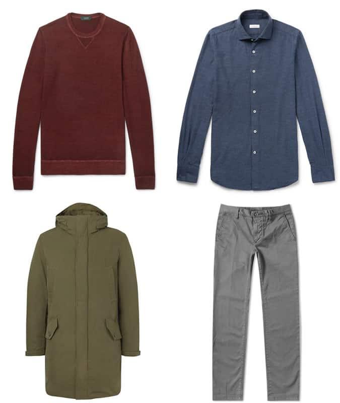 Les meilleurs vêtements pour hommes Incotex