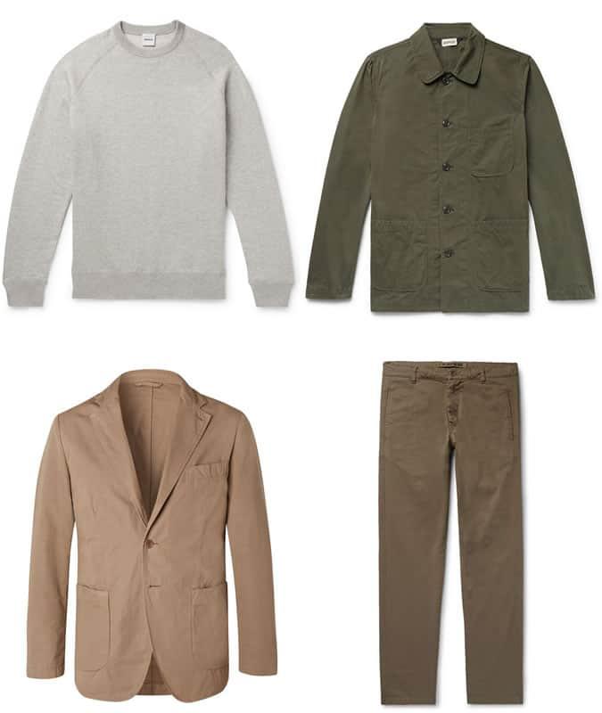 Les meilleurs vêtements pour hommes Aspesi