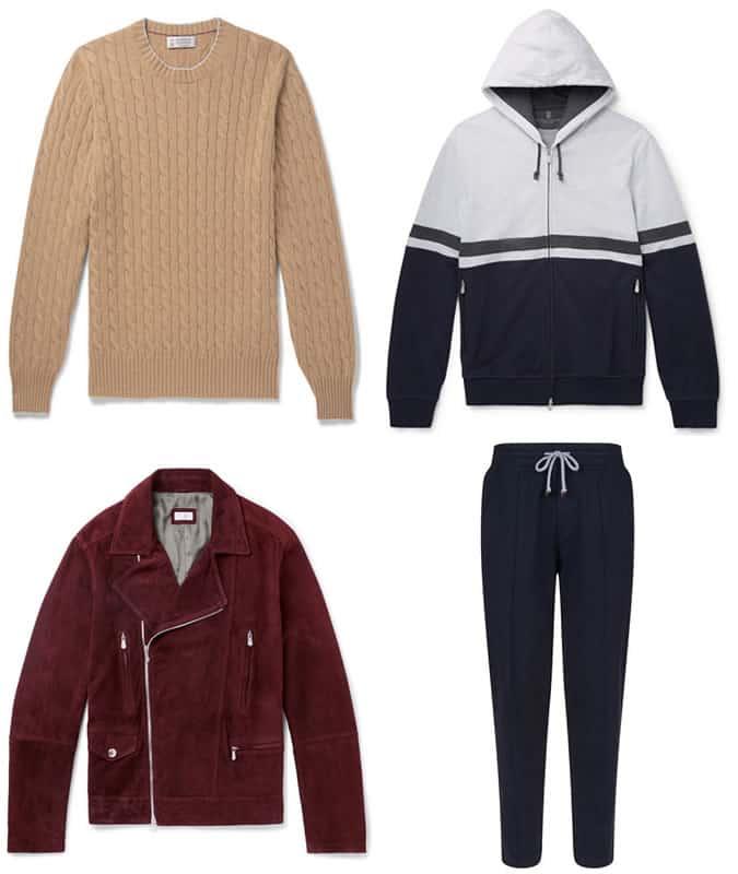Les meilleurs vêtements pour hommes Brunello Cucinelli