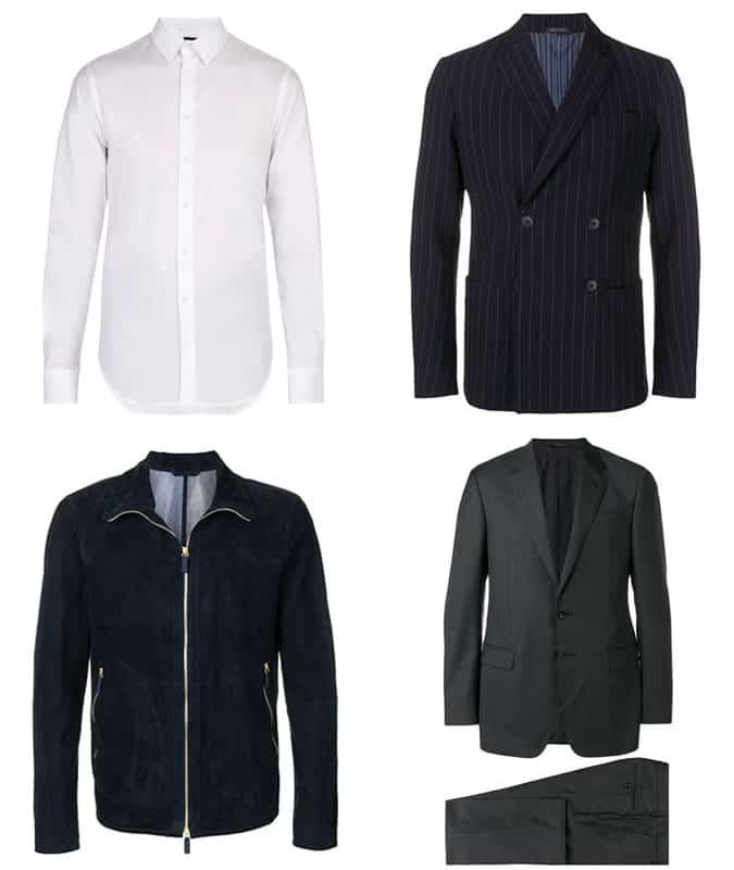 Les meilleurs vêtements pour hommes Armani