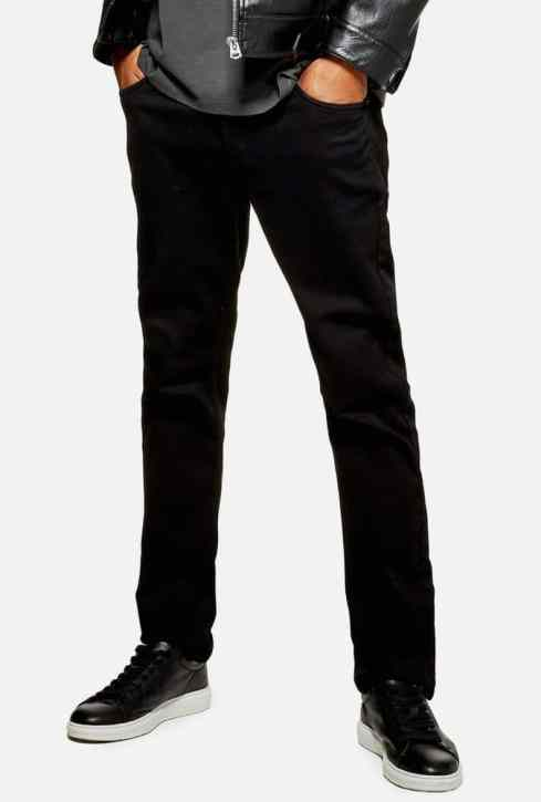 Jean slim stretch noir Topman