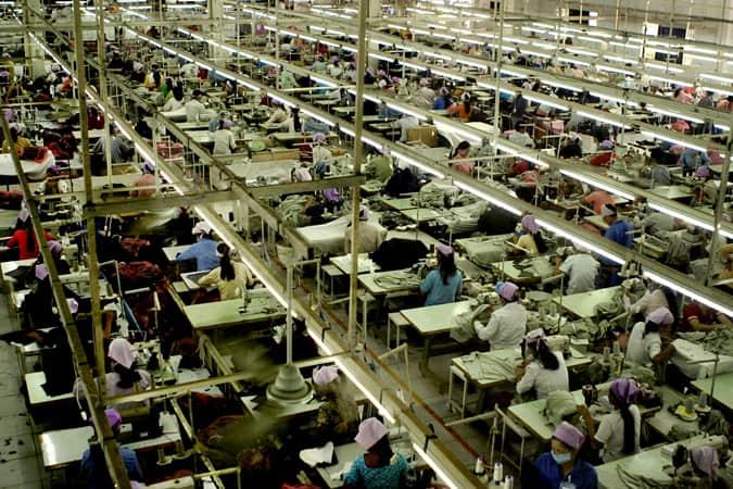 Usine de textile