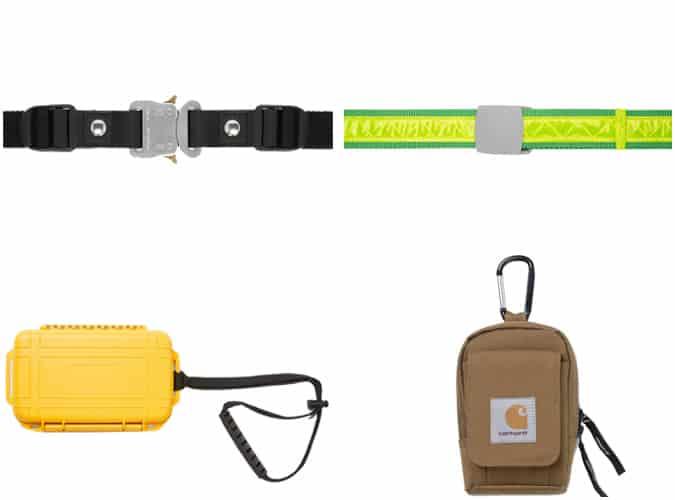 Les meilleures ceintures et sacs utilitaires pour hommes