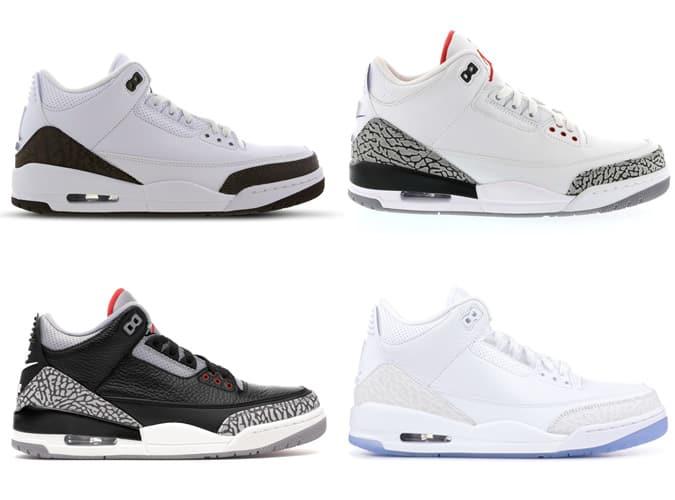 Meilleures baskets Air Jordan III