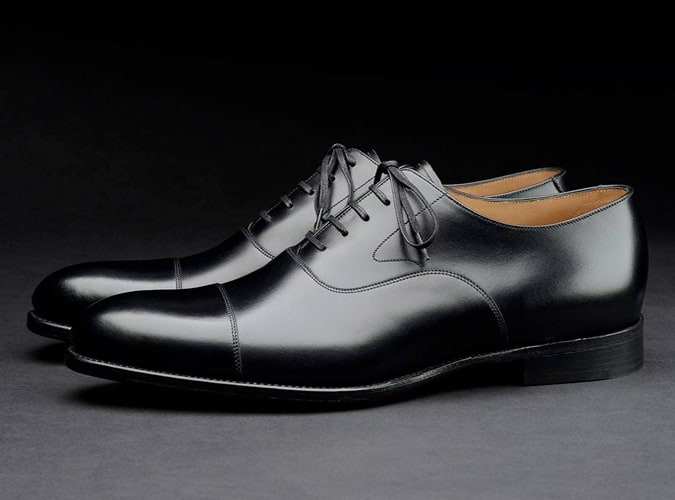 Loake shoemakers oxford noir