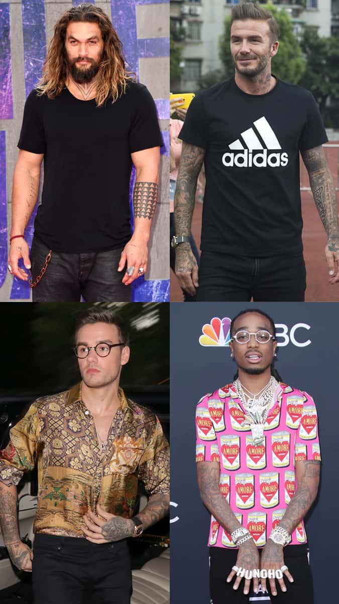 Celebrity Arm Tattoos