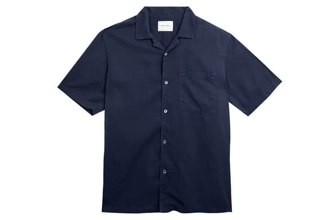 Chemise à col montant