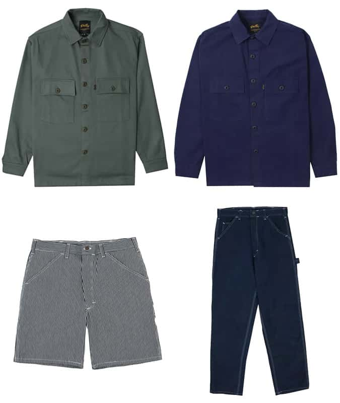Les meilleurs vêtements pour hommes de Stan Ray
