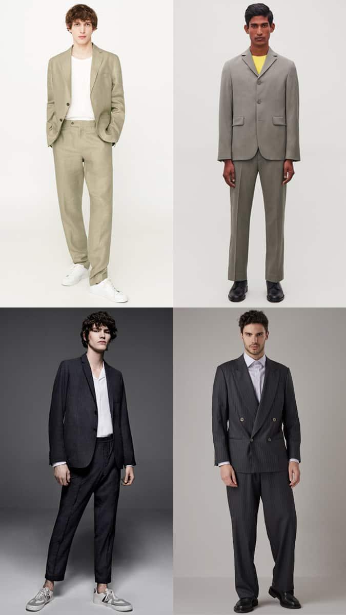 Années 90, couture, hommes