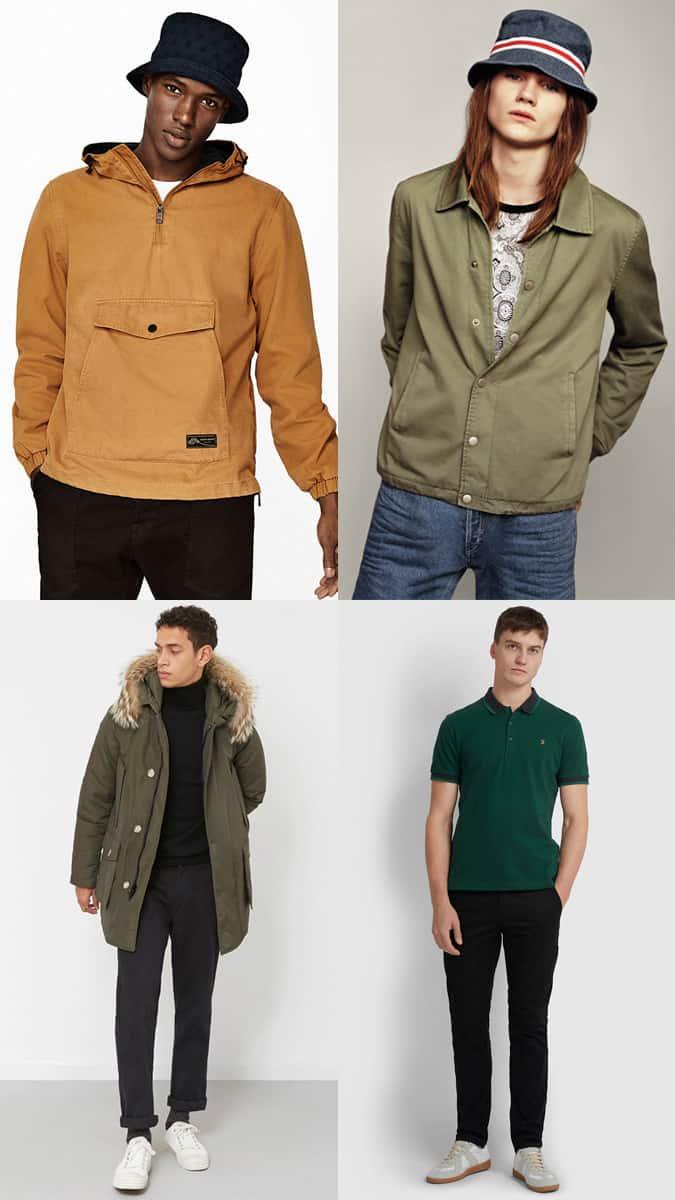 Idées de tenues Britpop hommes