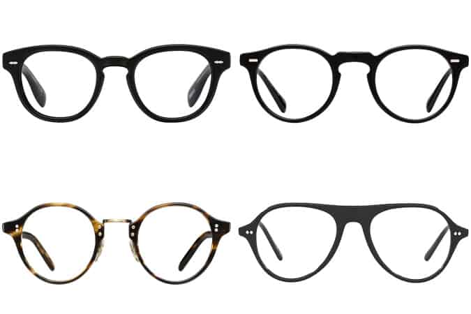 Meilleures lunettes Oliver Peoples homme