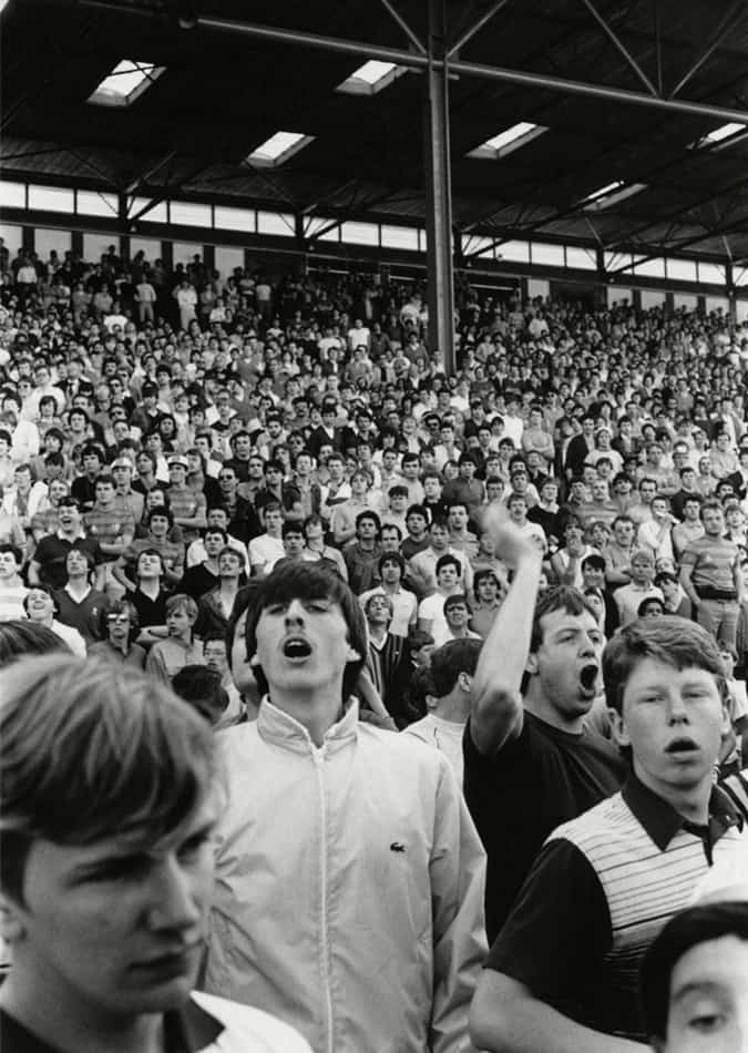 Fans de football, 1985