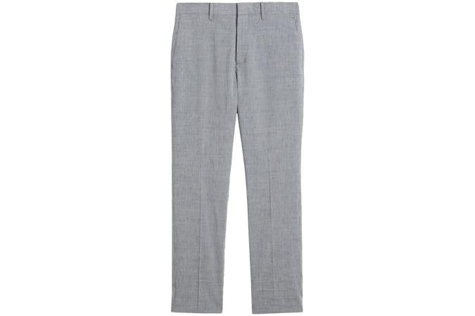 Pantalon Mayer en lin flammé