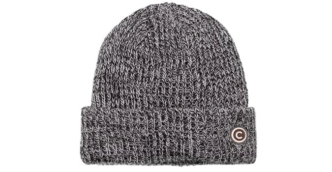 TWO-TONE HAT WITH A CUFF