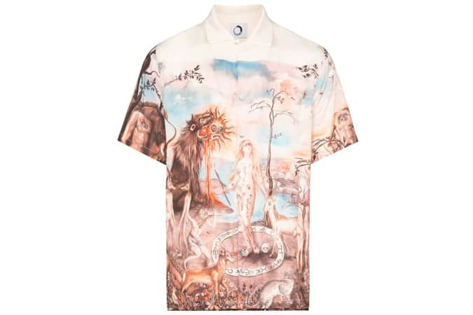 Endless Joy Mandeville's Trip Print Shirt