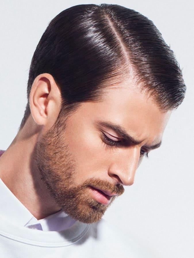 Short Beard Styles Full Boxed Beard
