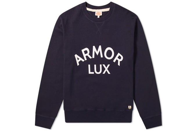 ARMOR-LUX 76661 SWEAT LOGO CREW