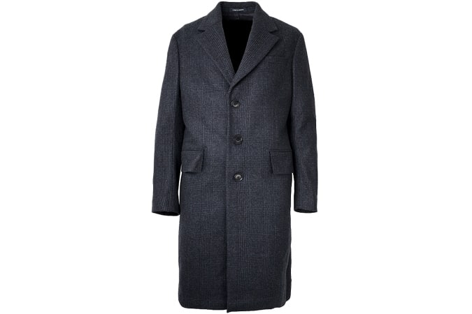A Day's March Classic Coat - Checked Wool