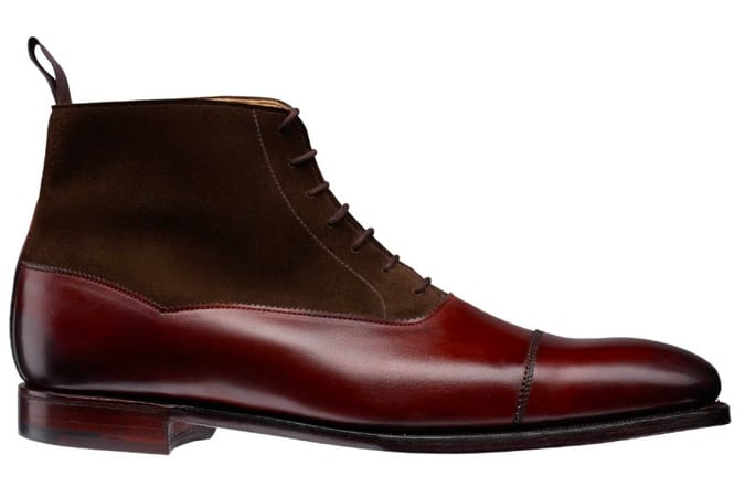 Charlton Chestnut Calf & Dark Brown Suede