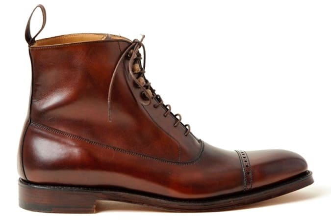 WESTMINSTER - DARK BROWN CALF BALMORAL BOOT