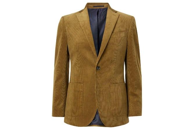 John Lewis & Partners Cotton Corduroy Suit Jacket