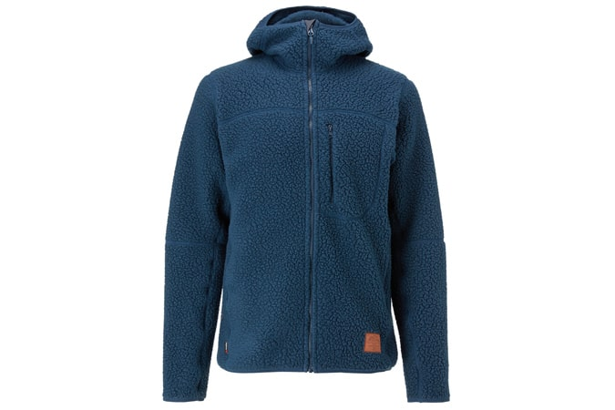 Haglöfs Pile Hood Men's Fleece Jacket, Tarn Blue
