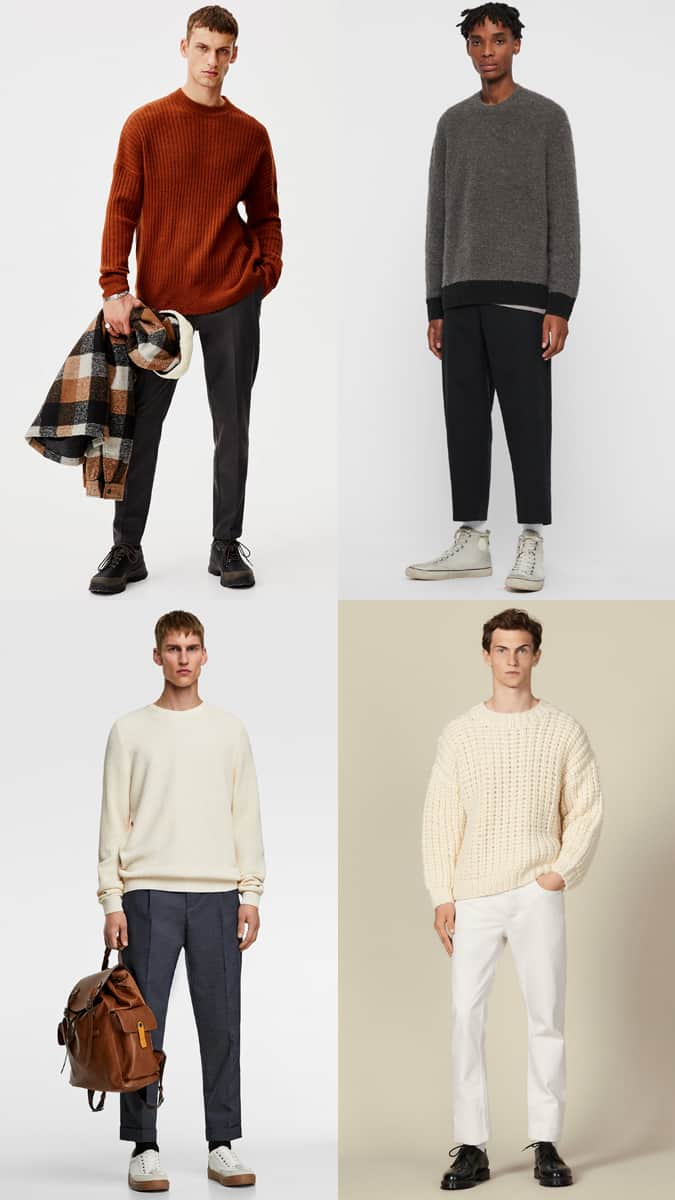 How to wear an oversized jumper