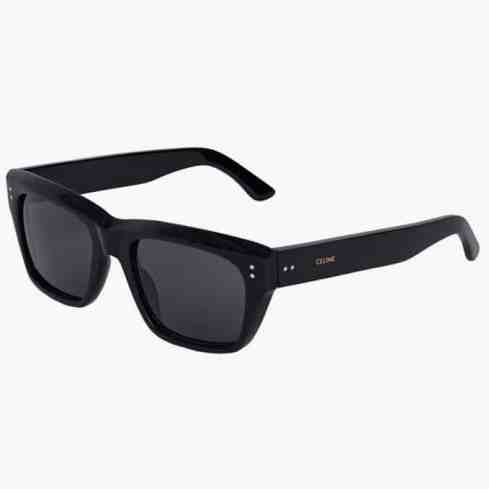 celine BLACK FRAME 01 SUNGLASSES IN ACETATE WITH POLARIZED LENSES