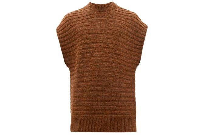 SÉFR Bob rib-knitted vest